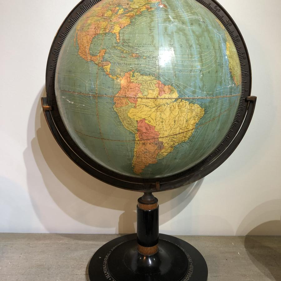 1930's Terrestrial Globe.