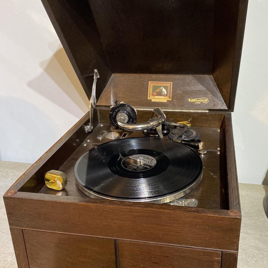 HMV Gramophone 1920's