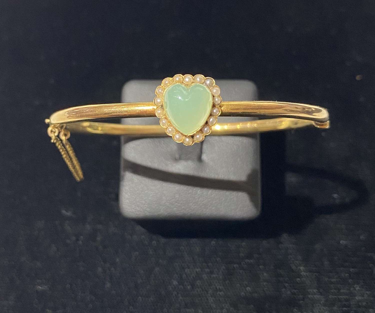 An Edwardian Heart Bangle