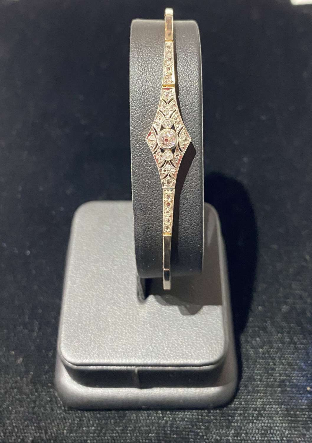 Art Deco Diamond Cocktail Bracelet