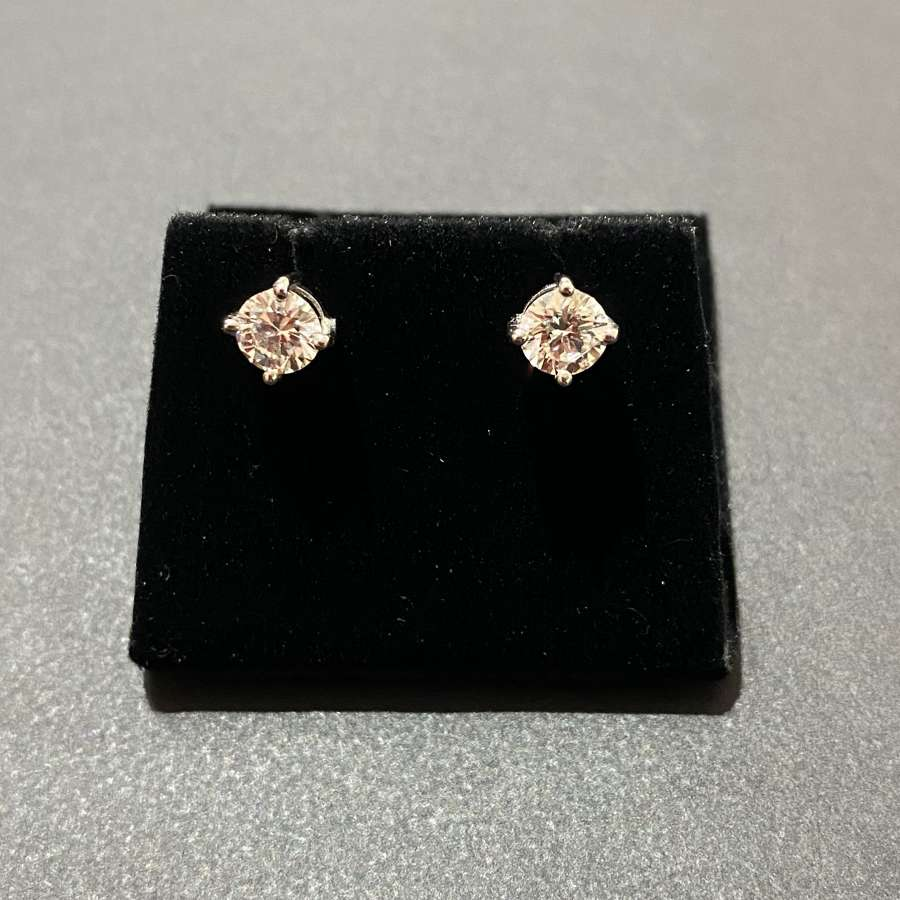 An impressive pair of Diamond studs.