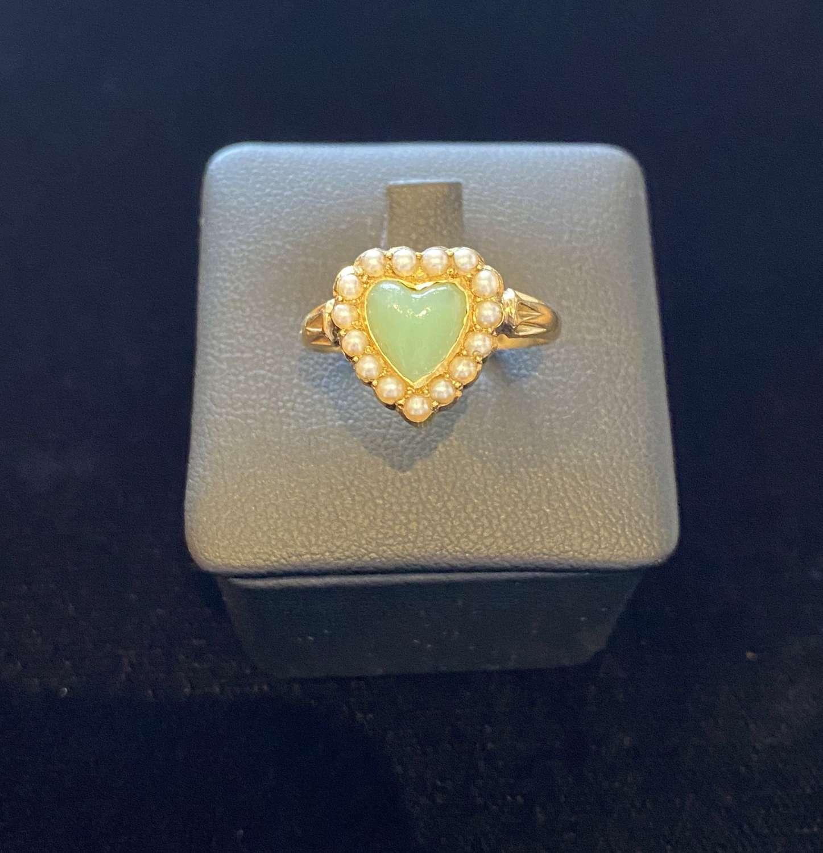Edwardian Heart Ring