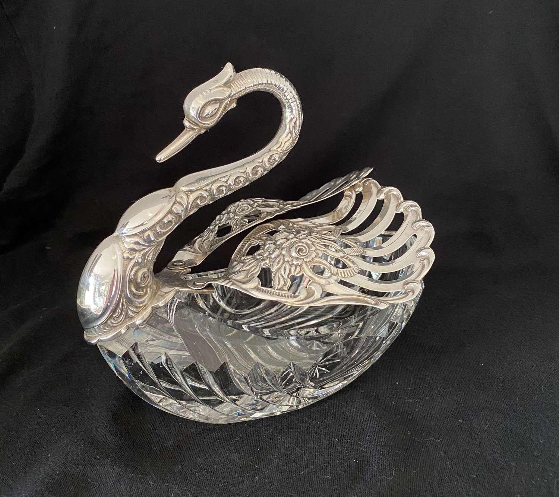 Swan Salt Cellar