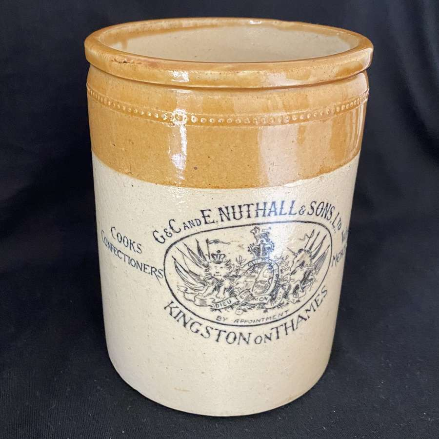 Nuthall & Sons Jar