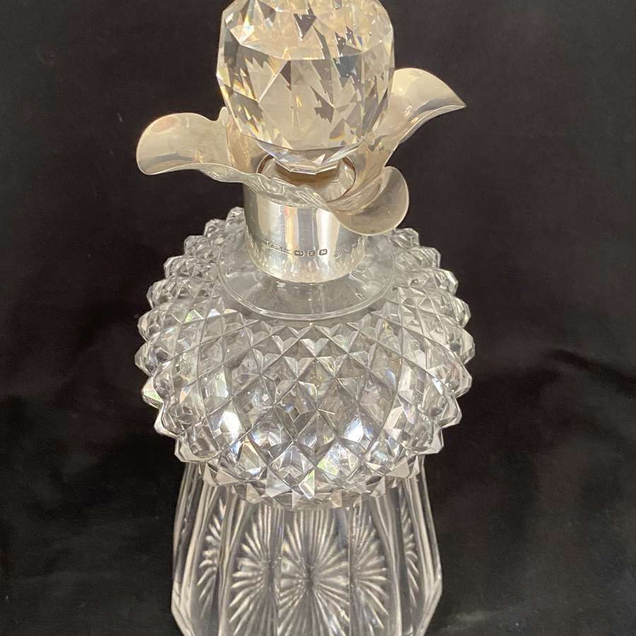 Crystal 'Thistle' Decanter