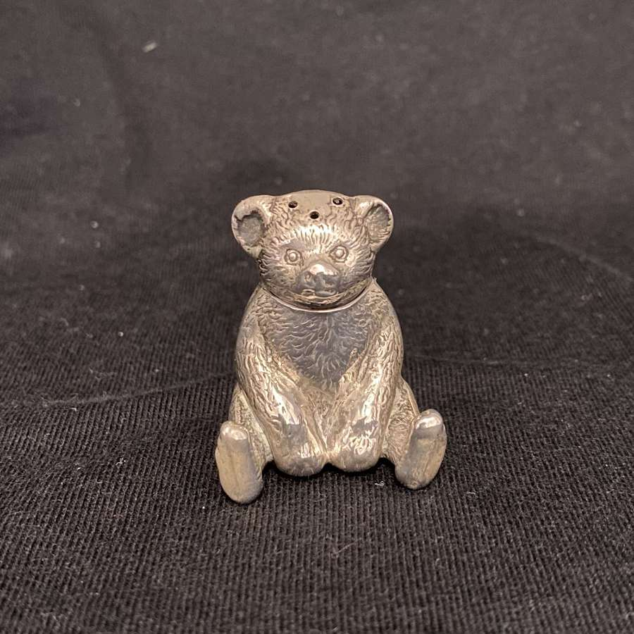 A Rare Teddy Bear Pepper Shaker.