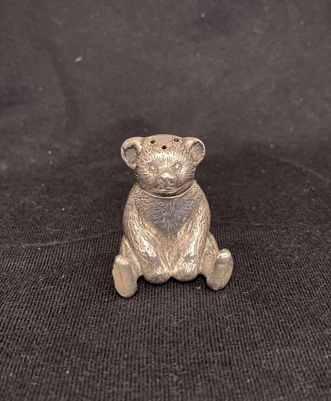 A Rare Teddy Bear Pepper Shaker.