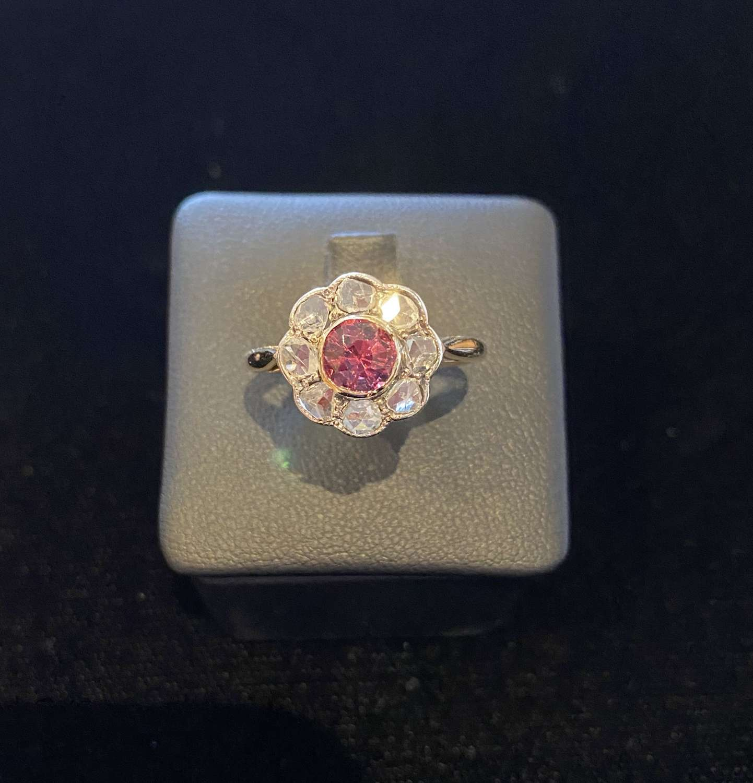 Victorian Ruby & Diamond Ring