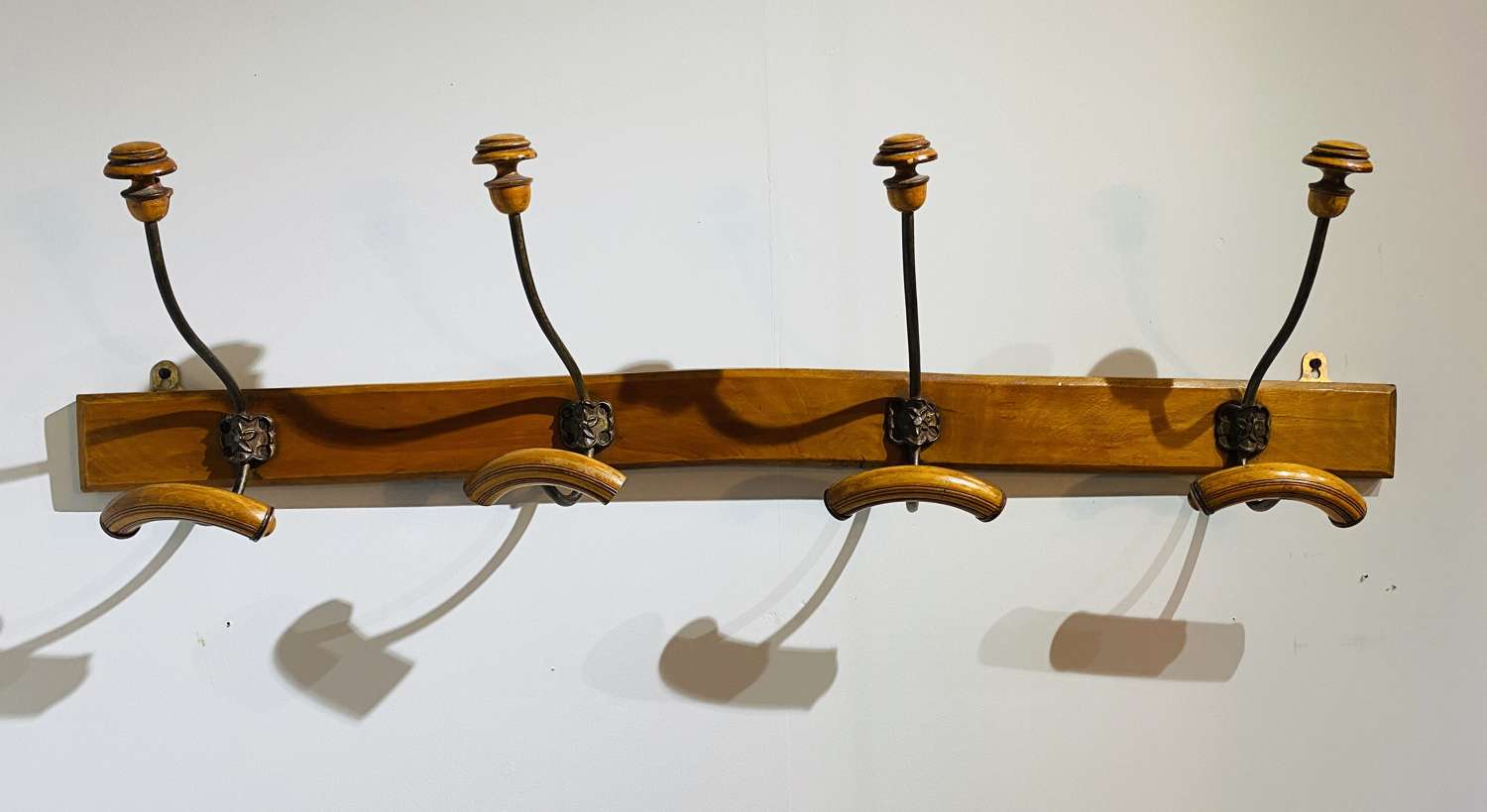 Beech Wood Coat Rack