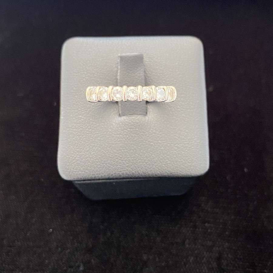A Diamond 7 Stone Ring