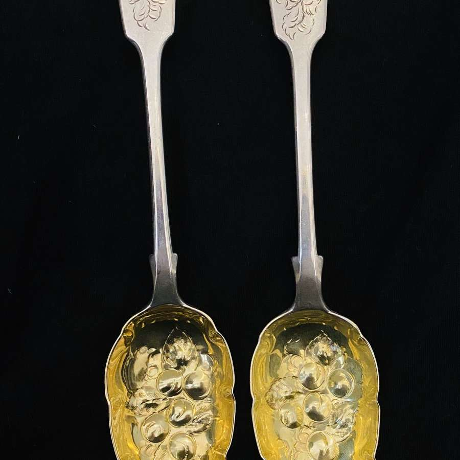 Silver Berry Spoons