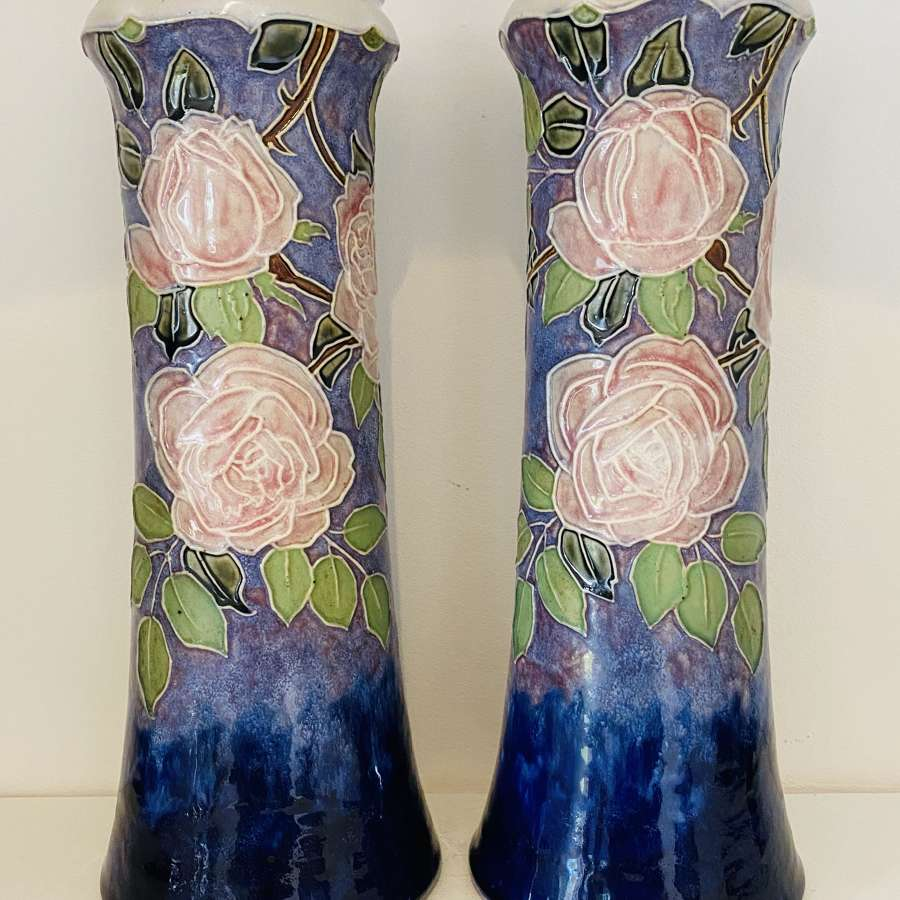 A Pair Of  Royal Doulton Vases