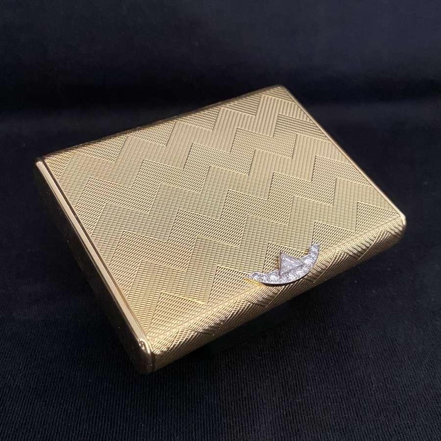 Cartier - A Gold Compact