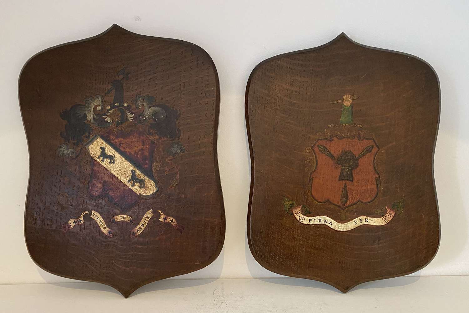 Armorial Plaques