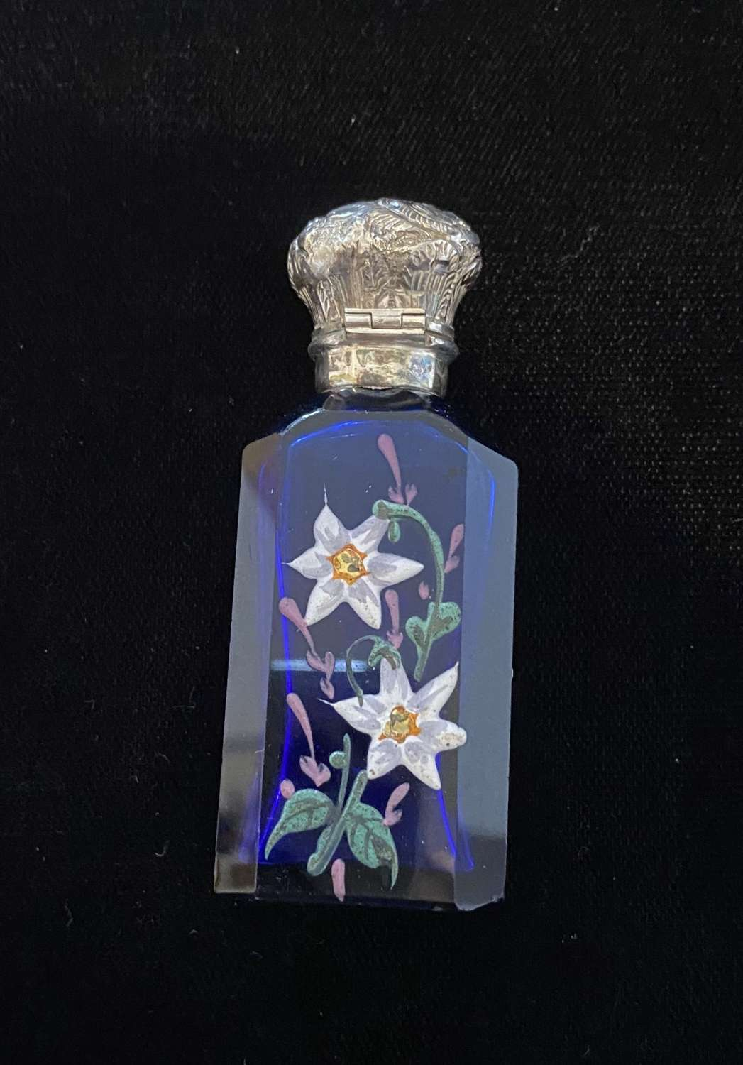 Bristol Blue Scent Bottle