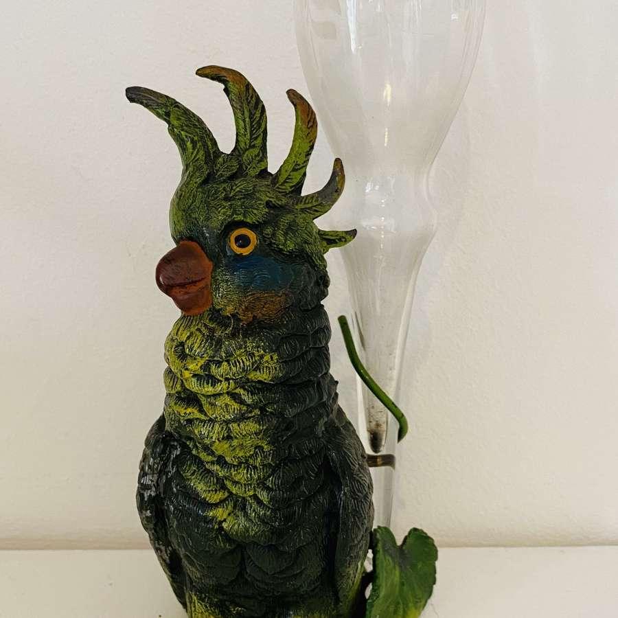 Parrot Posy Vase