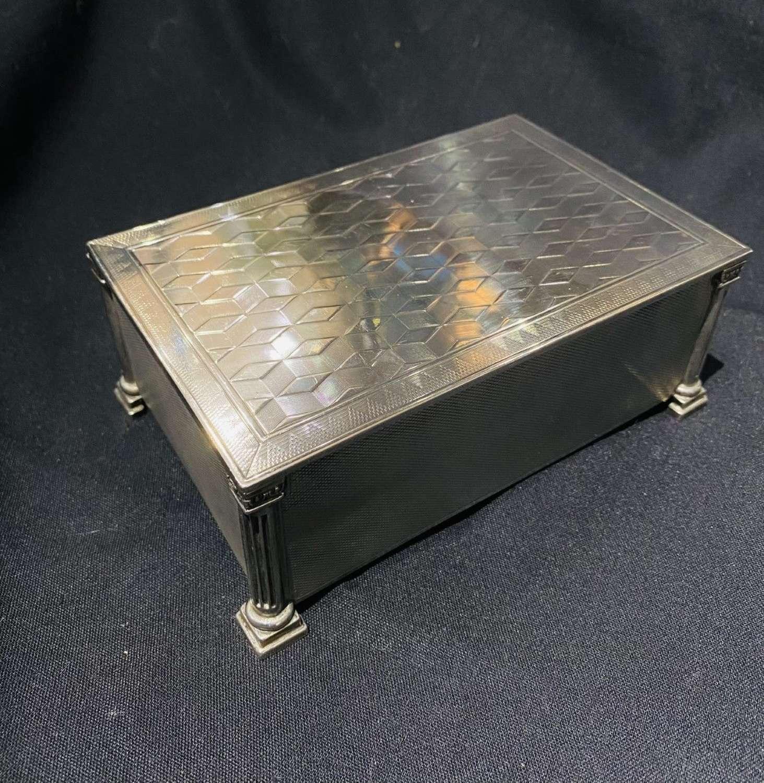 1920's Silver Box
