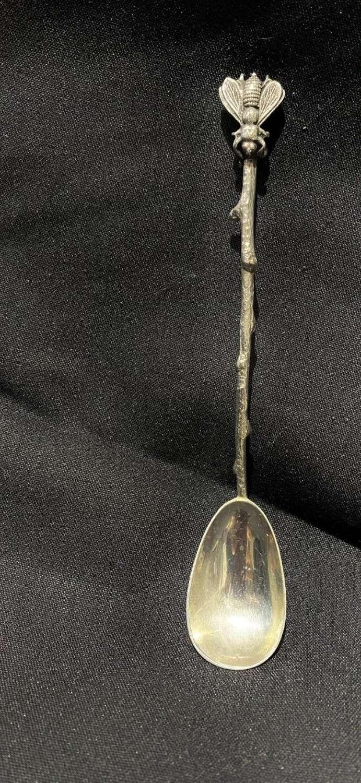 Silver Honey Spoon