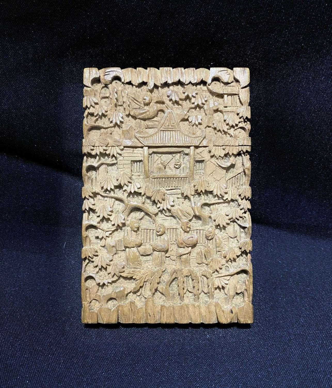 Chinese Carved Case