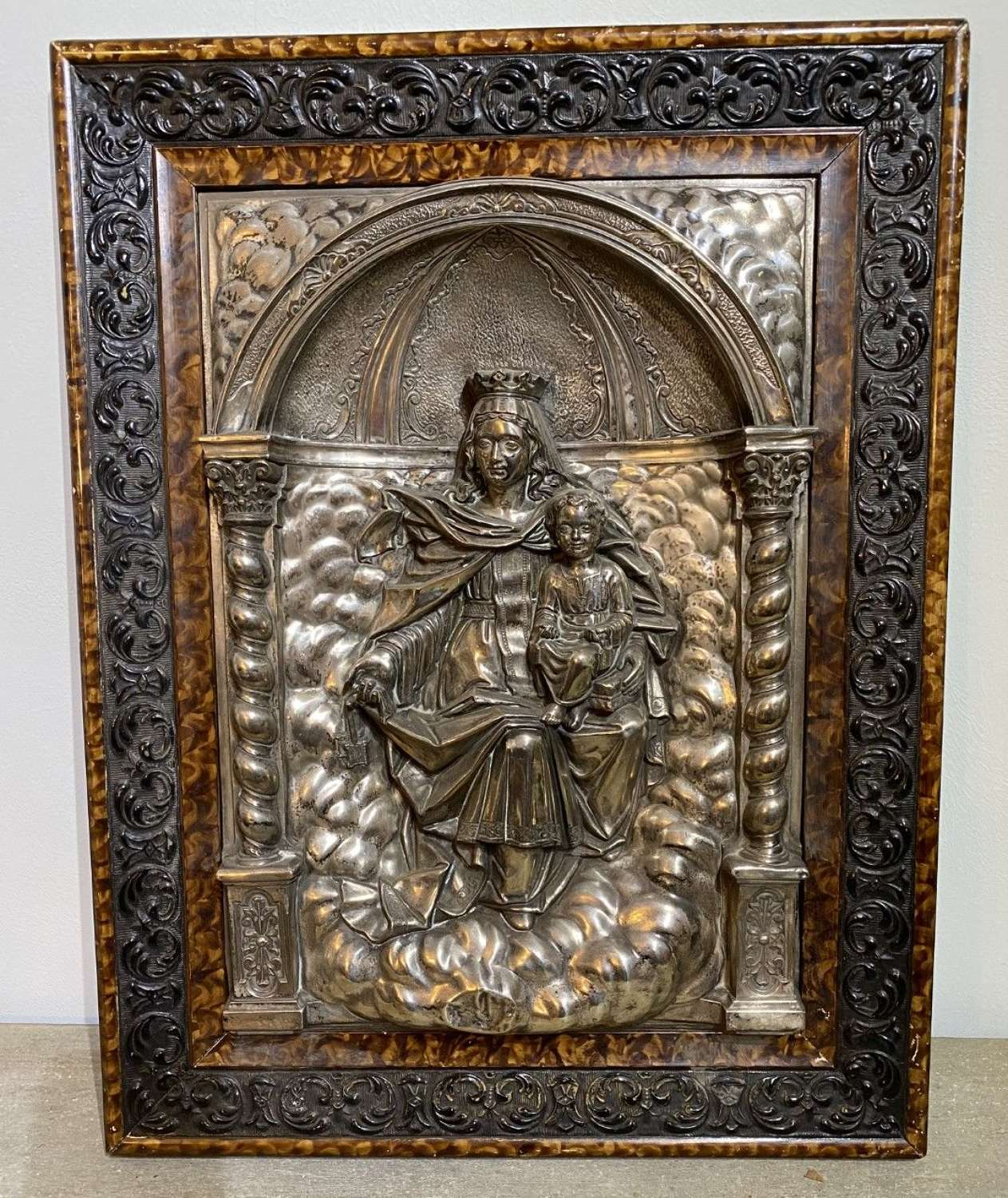 Silver Plated French Icon